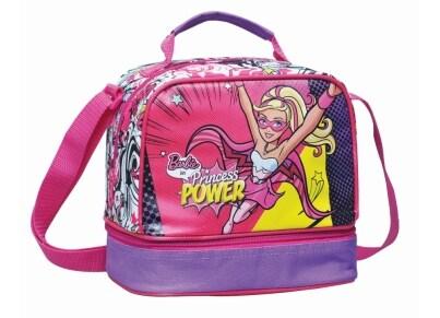 Τσαντάκι Φαγητού Οβάλ GIM Barbie Princess Power (349-50220)