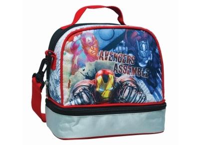 Τσαντάκι Φαγητού Οβάλ GIM Avengers Assemble (337-22220)