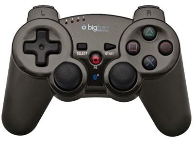 BigBen Bluetooth Controller Metallic Titanium - Χειριστήριο PS3 Γκρι