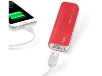 Powerbank USB SBS Portable Battery Backup 2200 mAh Κόκκινο