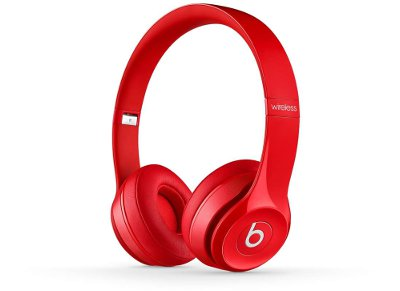 Ασύρματα Ακουστικά Κεφαλής Beats by Dre Solo 2 Wireless Κόκκινο