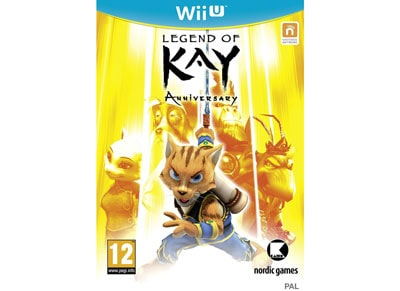 Legend of Kay HD Anniversary - Wii U Game