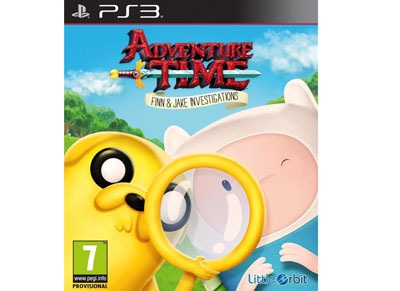 Adventure Time - Finn and Jake Investigations - PS3 Game