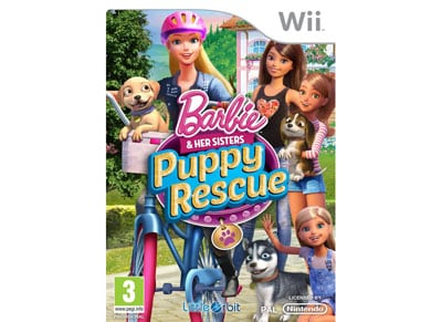 Barbie & Her Sisters Puppy Rescue - Wii Game gaming   παιχνίδια ανά κονσόλα   wii