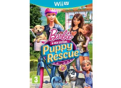 Barbie & Her Sisters Puppy Rescue - Wii U Game