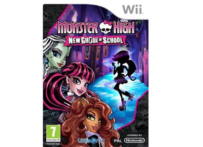 Monster High New Ghoul in School - Wii Game gaming   παιχνίδια ανά κονσόλα   wii