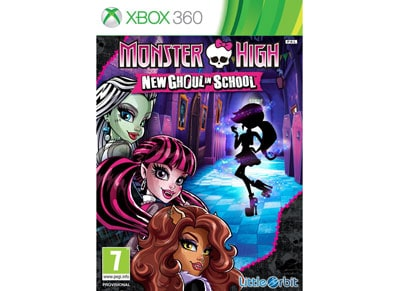 Monster High New Ghoul in School - Xbox 360 Game