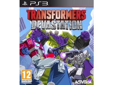 Transformers Devastation - PS3 Game gaming   παιχνίδια ανά κονσόλα   ps3