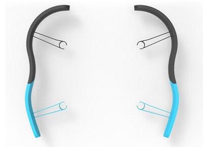 Parrot EPP Bumper για Bebop - Αξεσουάρ & Ανταλλακτικά - Μπλε wearables  drones   hitech   drones   τηλεκατευθυνόμενα   αξεσουάρ   ανταλλακτικ