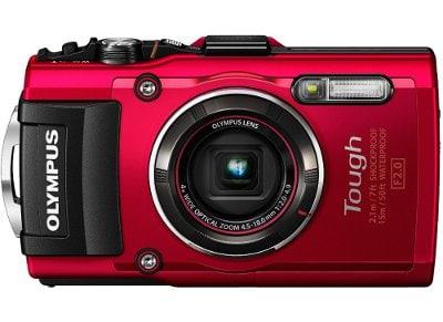 Αδιάβροχη Camera Olympus TG-4 Κόκκινο