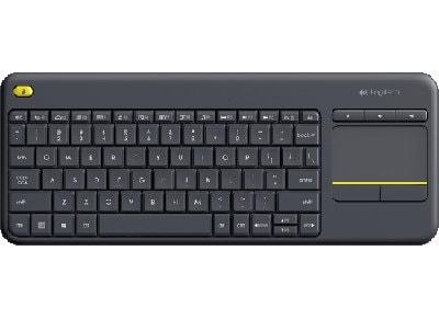 Ασύρματο Πληκτρολόγιο Logitech Touch Wireless Keyboard K400 Plus Μαύρο