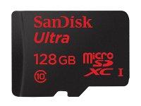 Κάρτα μνήμης microSDHC 128GB Class 10 - SanDisk Ultra SDSQUNC-0128G-GN6MA