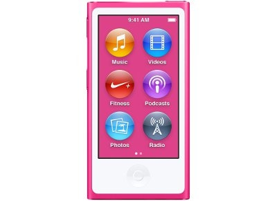 Apple iPod Nano 16GB MKMV2QB/A Ροζ