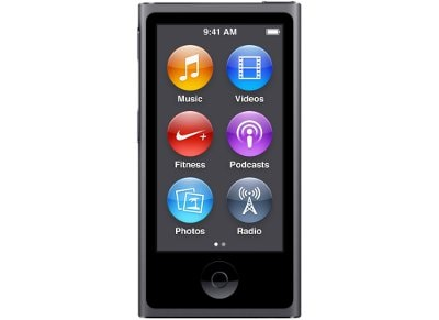 Apple iPod Nano 16GB MKN52QB/A Γκρι