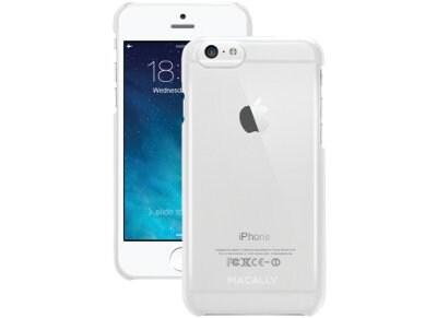 Θήκη iPhone 6/6S - Macally Snap On Metallic Case Διαφανές (SNAPP6M-C) apple   αξεσουάρ iphone   θήκες