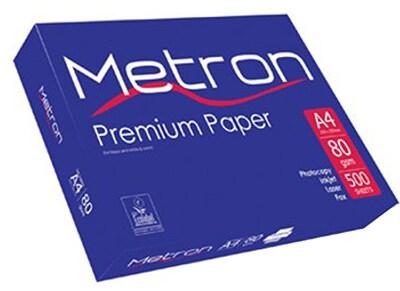 Χαρτί εκτύπωσης A4 500 φύλλα Metron A4 (80g)
