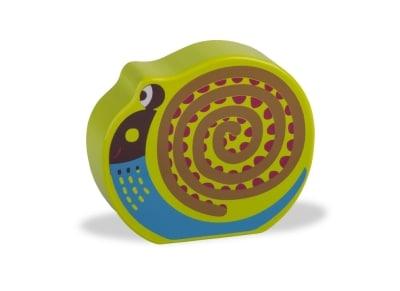 Ξύλινη Κουδουνίστρα Oops Easy Sound Σαλιγκάρι (13008.13)