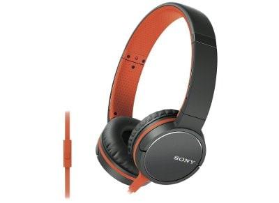 Ακουστικά κεφαλής Sony MDR ZX660 APD Πορτοκαλί