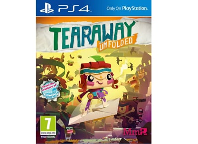 Tearaway Unfolded Messenger Edition - PS4 Game