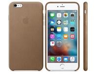 Θήκη iPhone 6/6S Plus - Apple Leather Case MKX92ZM/A Brown