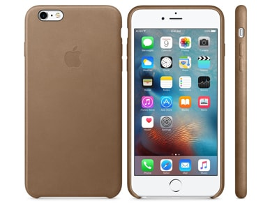 Θήκη iPhone 6/6S Plus - Apple Leather Case MKX92ZM/A Brown apple   αξεσουάρ iphone   θήκες