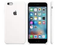 Θήκη iPhone 6/6S Plus - Apple Silicon Case MKXK2ZM/A White