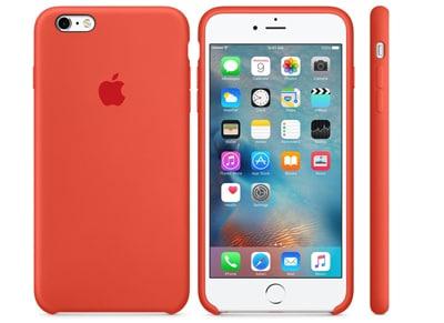 Θήκη iPhone 6/6S Plus - Apple Silicon Case MKXQ2ZM/A Orange