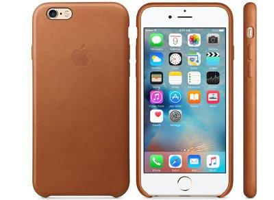 Θήκη iPhone 6/6S - Apple Leather Case Saddle Brown (MKXT2ZM/A)