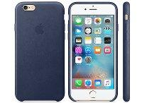 Θήκη iPhone 6/6S - Apple Leather Case Midnight Blue (MKXU2ZM/A)