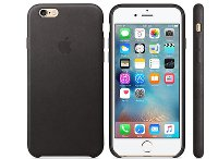 Θήκη iPhone 6/6S - Apple Leather Case Black (MKXW2ZM/A)