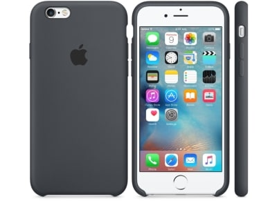 Θήκη iPhone 6/6S - Apple Silicone Case Charcoal Gray (MKY02ZM/A) apple   αξεσουάρ iphone   θήκες