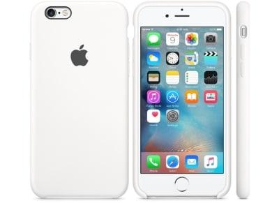 Θήκη iPhone 6/6S - Apple Silicone Case White (MKY12ZM/A) apple   αξεσουάρ iphone   θήκες
