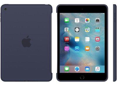 Apple Silicone Case - Θήκη iPad mini 4 Midnight Blue (MKLM2ZM/A) tablets   αξεσουάρ   θήκες