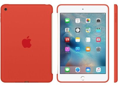 Apple Silicone Case - Θήκη iPad mini 4 Orange (MLD42ZM/A) tablets   αξεσουάρ   θήκες