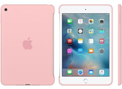 Apple Silicone Case - Θήκη iPad mini 4 Pink (MLD52ZM/A) tablets   αξεσουάρ   θήκες