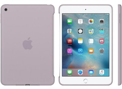 Apple Silicone Case - Θήκη iPad mini 4 Lavender (MLD62ZM/A) tablets   αξεσουάρ   θήκες
