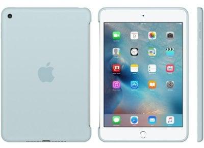Apple Silicone Case - Θήκη iPad mini 4 Turquoise (MLD72ZM/A) tablets   αξεσουάρ   θήκες