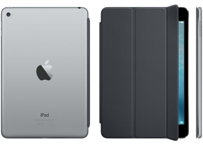 Apple Smart Cover - Θήκη iPad mini 4 Charcoal Gray (MKLV2ZM/A) tablets   αξεσουάρ   θήκες