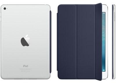 Apple Smart Cover - Θήκη iPad mini 4 Midnight Blue (MKLX2ZM/A) tablets   αξεσουάρ   θήκες