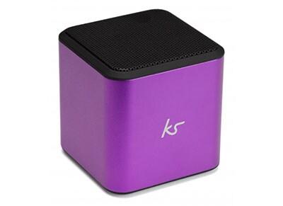 Φορητά ηχεία Kitsound Cube Bluetooth Μωβ
