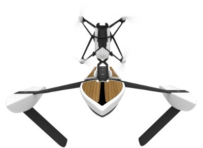 Parrot Hydrofoil Newz - Τηλεκατευθυνόμενο Mini Drone Λευκό