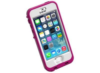 Αδιάβροχη Θήκη iPhone 5S LifeProof Nuud 2107-03-S Λευκό/Ροζ apple   αξεσουάρ iphone   θήκες