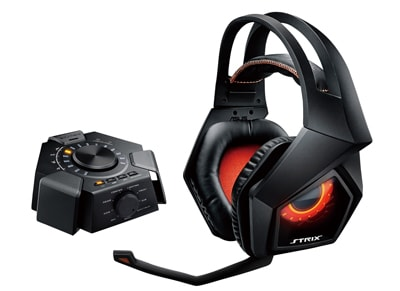Asus Strix 7.1 & Audio Station - Gaming Headset Μαύρο gaming   αξεσουάρ pc gaming   gaming headsets