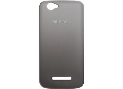 Θήκη MLS iQTalk Color - MLS Silicone Cover Μαύρο 11.CC.520.083 τηλεφωνία   tablets   αξεσουάρ κινητών   θήκες