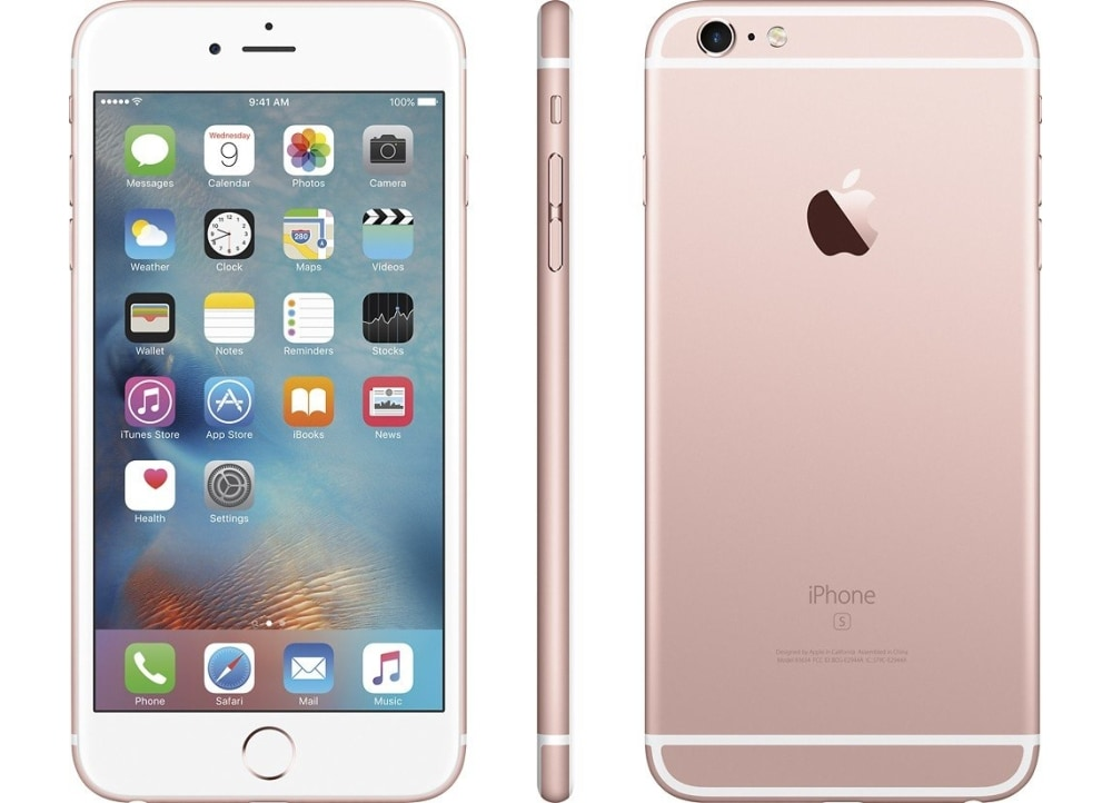 smartphone apple iphone 6s plus 128gb cy rose gold public. Black Bedroom Furniture Sets. Home Design Ideas
