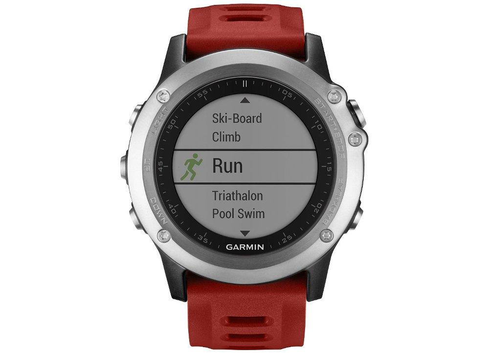 Smartwatch Garmin Fenix 3 Ασημί