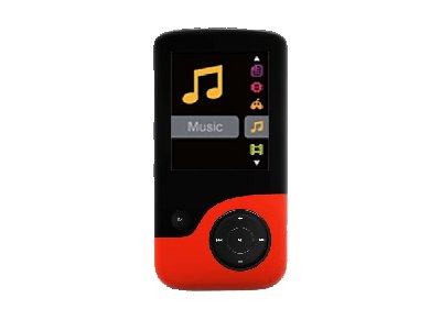 MP3 Player Crypto MP1800 8GB Κόκκινο