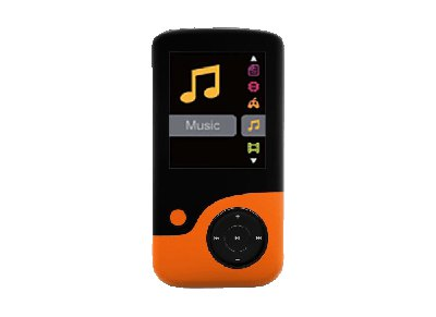 MP3 Player Crypto MP1800 8GB Πορτοκαλί