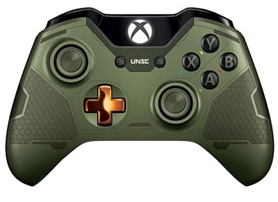 Microsoft Xbox One Controller Limited Edition Halo 5 Master Chief - Χειριστήριο