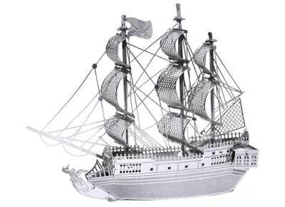 3D Παζλ Πειρατικό Καράβι Black Pearl (2 Φύλλα)